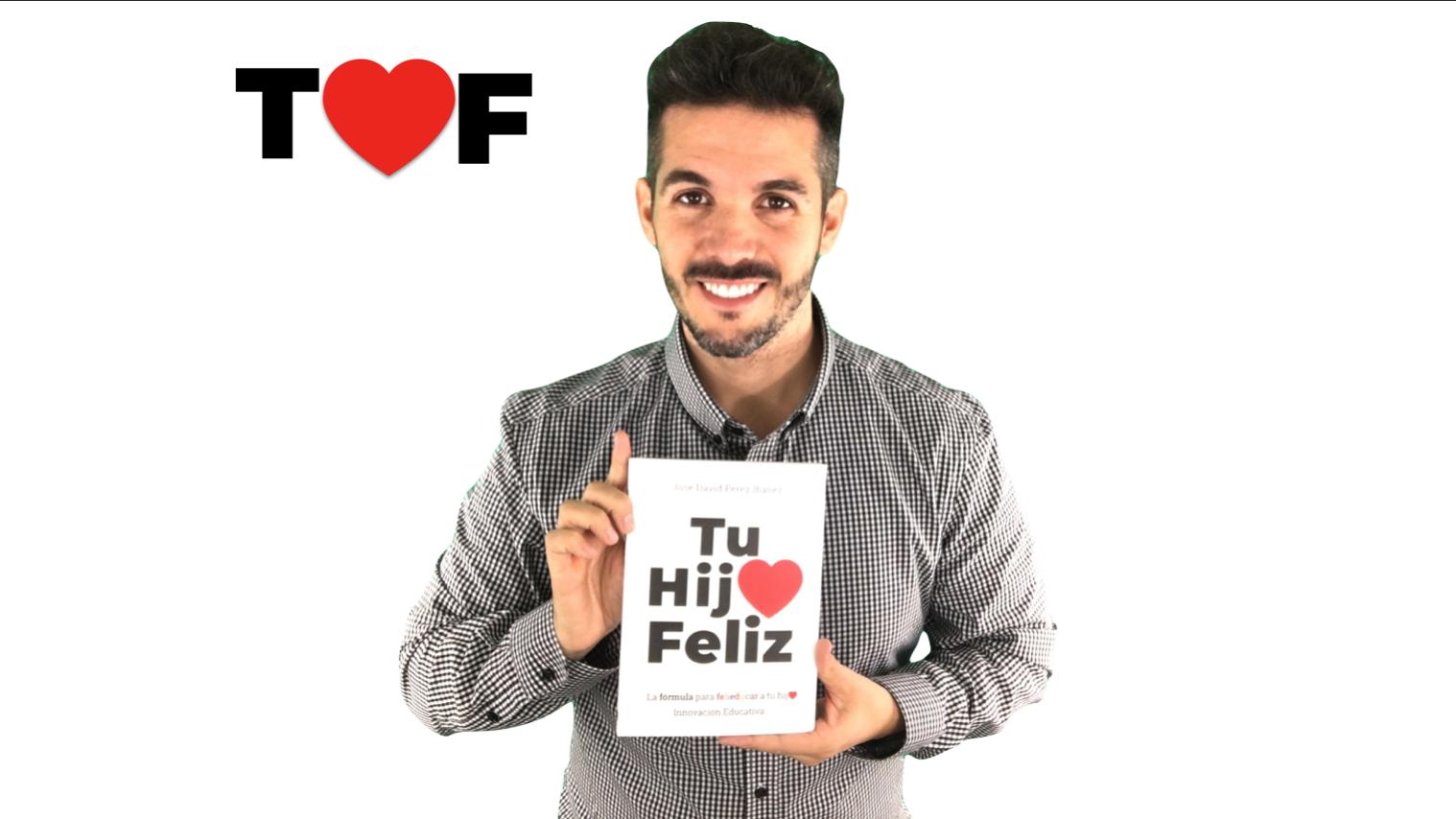 José David Pérez, autor del libro Tu hijo feliz (tuhijofeliz.com) 1